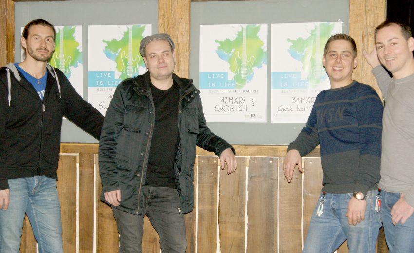 Andreas Schlintl, Peter Fritz, Thomas Hadolt, Mario Reiter, Die Brauerei, Live is life