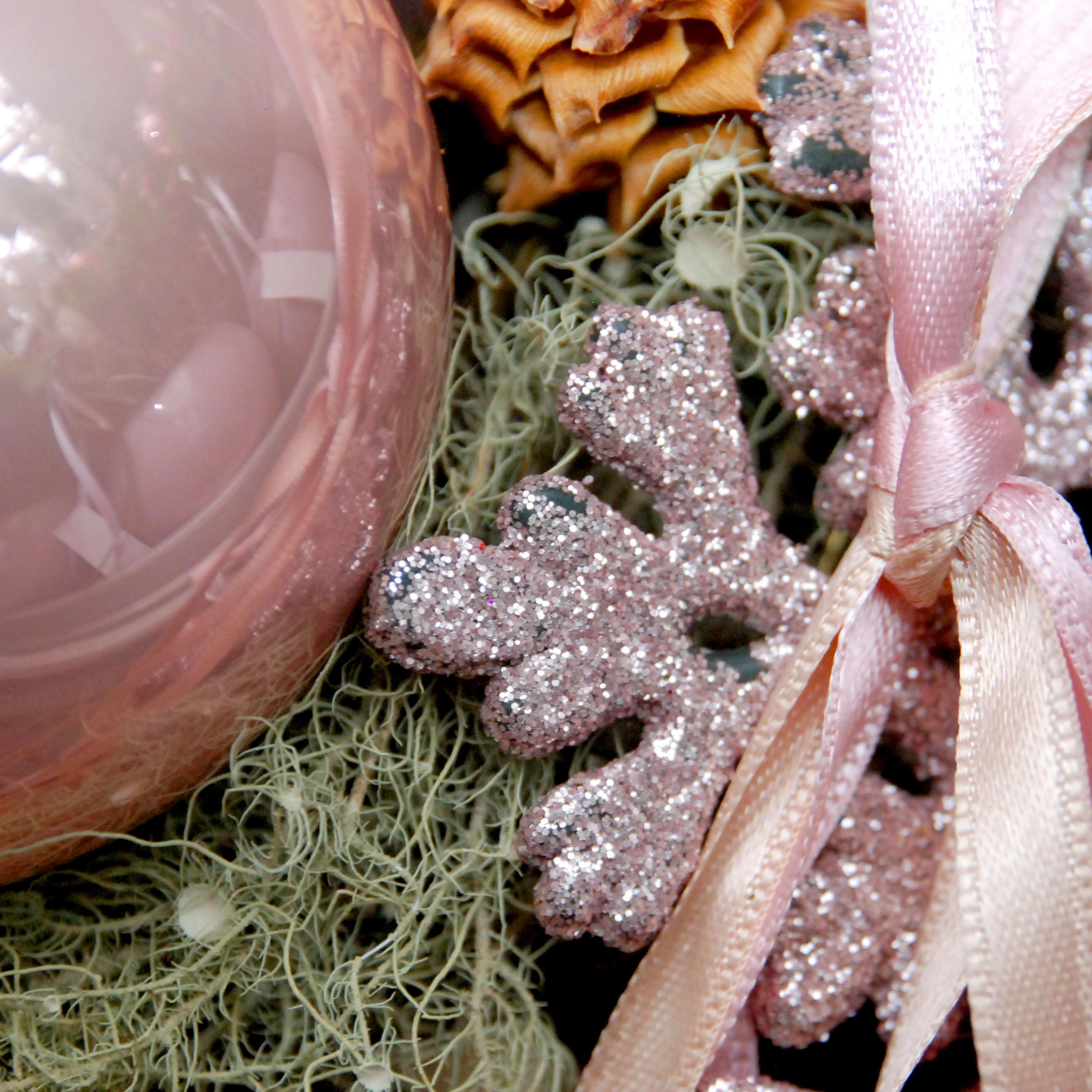 weihnachtsdeko trends 2016 rosa rose altrosa